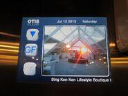 Otis LCDscreen