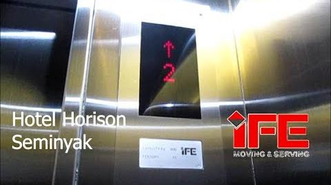 Brand New IFE Traction Elevators at Hotel Horison Seminyak, Bali