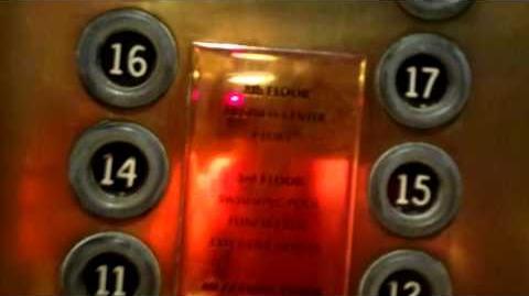 Montien Hotel Bangkok Old Otis Traction Elevators (North Wing)