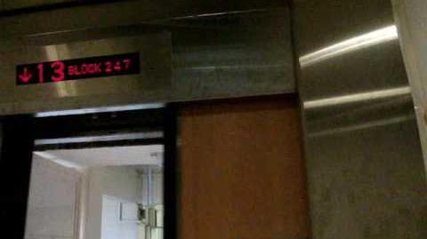 Jurong West Blk 246 247 Residental HDB - IFE Panoramic Elevator