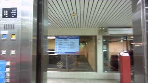 Taiwan 2014 Banqiao Station Front Plaza - Tatung Otis (3200) Elevator