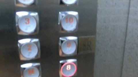 Hyundai Traction Elevator @Hotel Melia Santiago de Cuba, Cuba