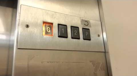 1960's Hydraulic Kone elevator