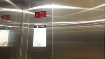 赤蠟角香港國際機場蒂森克虜伯無機房升降機