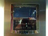 Otis 2000 LCD Indicator