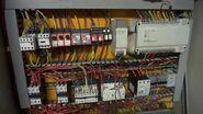 Modern elevator controller cabinet