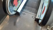 O&K FIAM escalator landing plate