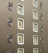 EPL Kone white buttons