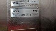 1990 GEC Express HK plate