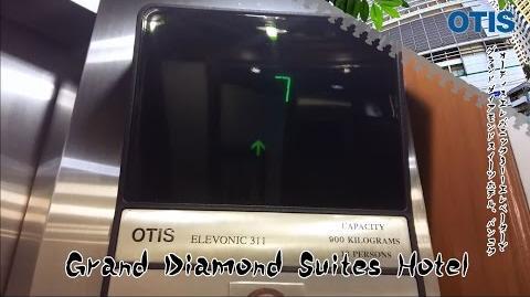 Otis Elevonic 311 Elevators @ Grand Diamond Suites Hotel, Bangkok