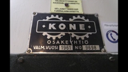 Very Old KONE Nameplate