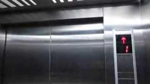 Schindler MRL Service Elevator at Pondok Indah Mall 1, Jakarta (Lift 1)