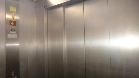 Retake - Kone traction talking elevators at ShuferSal Deal supermarket in Bat Yam-0