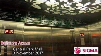 Central Park Mall- Sigma Traction Ballroom Elevator.
