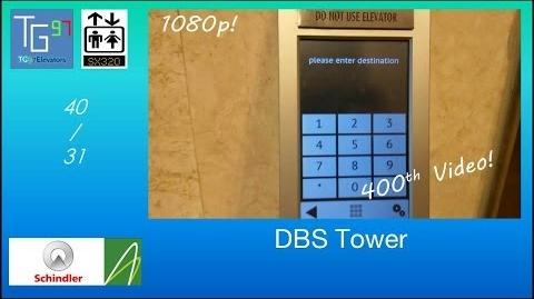 400th Video Schindler PORT Traction Elevators at DBS Tower, Jakarta (31 - 40)
