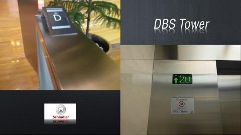 Schindler PORT Traction Lifts - DBS Tower, Jakarta (Low)