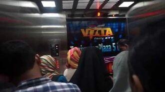 Video by Reza.2016- MMRed hospital-sized elevators at Tunjungan Plaza 1, Surabaya