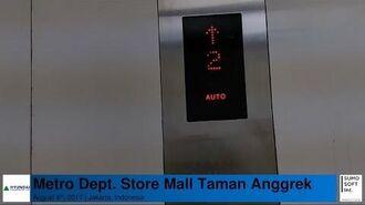Elevator at Metro Dept. Store Mall Taman Anggrek, Jakarta