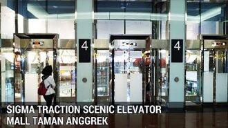 Sigma Traction Scenic Elevators (Lifts) Mall Taman Anggrek Tomang Jakarta Indonesia