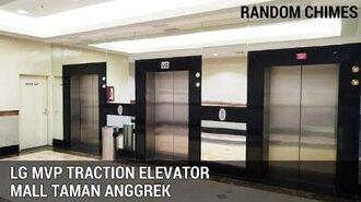 LG MVP Traction Elevators (Lifts) Mall Taman Anggrek Tomang Jakarta Indonesia