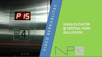 SIGMA Elevator @ Central Park (Ballroom)