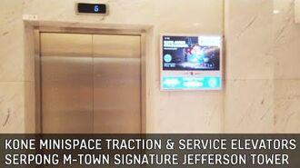 Serpong M-Town Signature Jefferson Tower Elevators (Lifts) - Kone MiniSpace Traction & Service