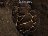 Кусок серы