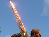 Огненный двуручный меч II