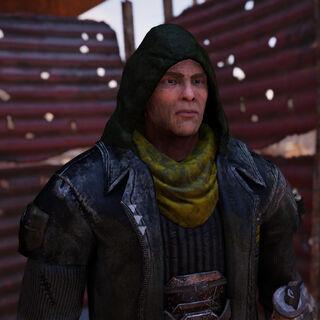 Snake: Gerissener Outlaw-Bandit der durch das Abhörungsgerät von Darrell Kleriker überfallen hat.