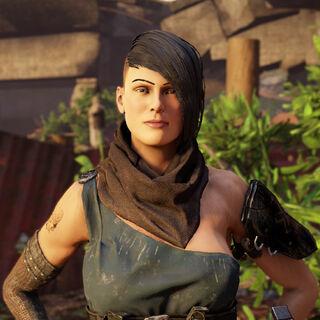 Paige: Sie ist ein Outlaw und Waffenhändlerin in der <a href=