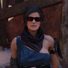Erin: Eine Schlächterin die zu einer Vollstreckerin der Outlaws aufsteigen will.