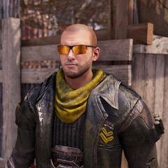 Gunn: Ein Schlächter der Outlaws der erst vor kurzen zu diesen ernannt wurde.