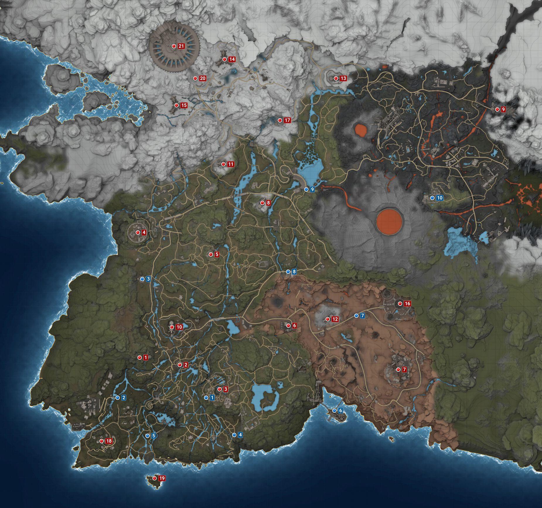 Elex Karte Teleporter.Magalan Elex Wikia Fandom Powered By Wikia