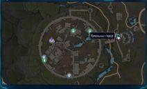 Вход к Когтям-Карта