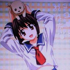 Mayu and Wanta in a Japanese tobacco advert