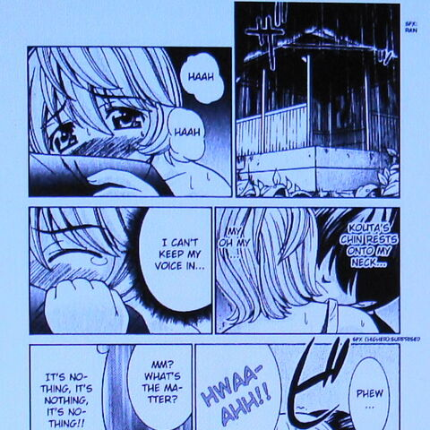 Kouta/Yuka awkward moment # 957A