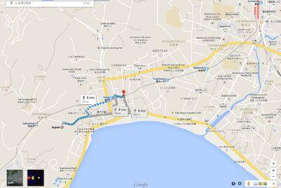 Tiny crossing Mayu Google Map