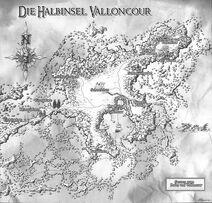 Karte Halbinsel Valloncour