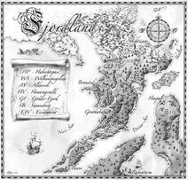 Karte Fjordland