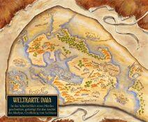 Karte Daia