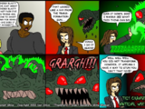 Part 7 - Fist Fight: Comic for Thursday, Oct 31, 2002