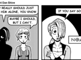 Not a Date at the Mall: Comic for Thursday, May 13, 2004