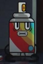 Spray-paint Can