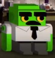 3D cube employee