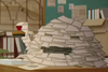 Paper woman