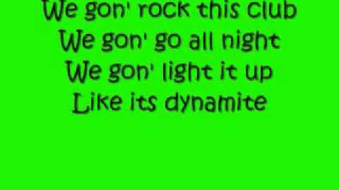 Dynamite-Taio Cruz (lyrics)