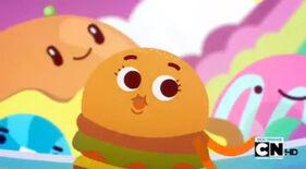 Hamburger running