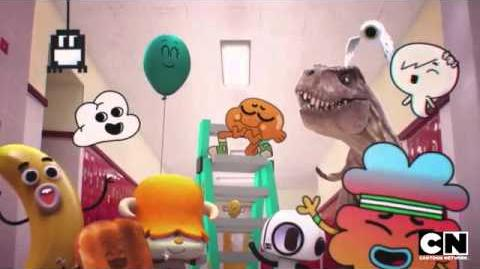 The Amazing World of Gumball - The Words (Preview) Clip 1