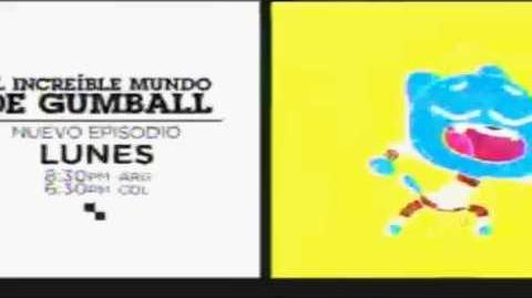 "Cartoon network LA Promo El increible mundo de gumball ""Nueva temporada"" Sep 2014"