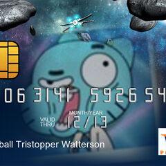 Como seria la tarjeta visa de gumball